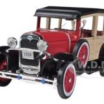 1929 Ford Woody Wagon Burgundy 1/32 Diecast Car Model by Arko Products