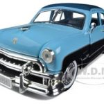 1951 Ford Custom Crestliner Blue 1/32 Diecast Car Model by Arko Products