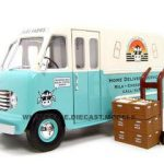 1950 Ford Step Van Milk Truck 1/24 Diecast Car by Unique Replicas