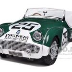 Triumph TR3A #25 Le Mans 1959 1/18 Diecast Car Model by Kyosho