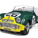 Triumph TR3A #26 Le Mans 1959 1/18 Diecast Car Model by Kyosho