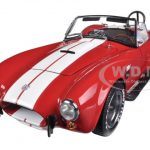 Shelby Cobra 427 S/C Red 1/18 Diecast Car Model by Kyosho