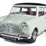 Morris Mini Cooper S MK-1 1275S White 1/18 Diecast Car Model by Kyosho
