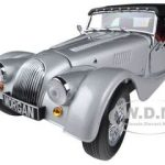 Morgan 4/4 Sport Silver 1/18 Diecast Car Model by Kyosho