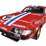 1977 Ferrari 365 GTB/4 Daytona #64 High End Version Newman/Minter/Robinson 1/18 Diecast Car Model by Kyosho