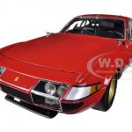 1977 Ferrari 365 GTB/4 Daytona Red High End Version 1/18 Diecast Car Model by Kyosho