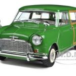 Morris Mini Traveller Green RHD 1/18 Diecast Model Car by Kyosho