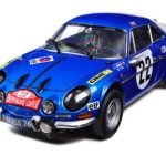 Renault Alpine A110 1600S #22 1971 Rally Monte Carlo 1/18 Diecast Model Car by Kyosho