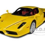 Ferrari F60 Enzo Yellow 1/12 Diecast Model Car by Kyosho