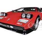 Lamborghini Countach 500S WW Walter Wolf Edition Red 1/12 Diecast Model Car by Kyosho