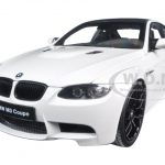 BMW M3 (E92) White 1/18 Diecast Model Car by Kyosho