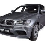 BMW X6 M Space Grey 1/18 Diecast Car Model by Kyosho