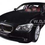 BMW 7 Series Active Hybrid Black Sapphire 1/18 Diecast Car Model by Kyosho