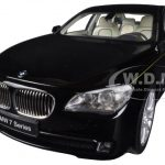 BMW 760Li (F02) 7 Series Black 1/18 Diecast Car Model by Kyosho