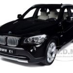 BMW X1 sDrive 28i (E84) Black with Tan Interior 1/18 Diecast Model Car by Kyosho