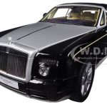 Rolls Royce Phantom Coupe Black 1/18 Diecast Car Model by Kyosho