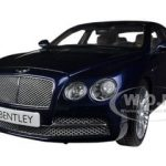 Bentley Flying Spur W12 Peacock Blue 1/18 Diecast Car Model by Kyosho