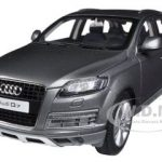 2009 Audi Q7 Graphite Grey 1/18 Diecast Car Model by Kyosho