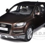 Audi Q7 Teak Brown 1/18 Diecast Car Model by Kyosho