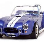 1964 Shelby Cobra 427 S/C Blue 1/18 Diecast Car by Road Signature