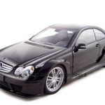 Mercedes CLK DTM AMG Coupe Black 1/18 Diecast Model Car by Kyosho