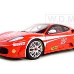 Ferrari F430 #14 Challenge Elite Edition 1/18 Diecast Model Car by Hotwheels