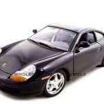 Porsche 911 Carrera Black 1/18 Diecast Model Car by Motormax