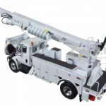 International Durastar with Digger Derrick 1/34 Diecast Model by First Gear