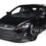 2010 Ford Focus RS 500 Matt Black 1/18 Diecast Car Model by Minichamps