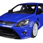 2010 Ford Focus RS Metallic Blue 1/18 Diecast Car Model by Minichamps