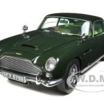 1963 Aston Martin DB5 British Racing Green 1/18 Diecast Model Car by Sunstar