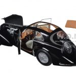 1938 Alfa Romeo Lungo 8C 2900 B Black 1/18 Diecast Car Model by Minichamps