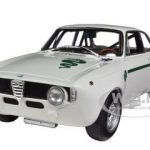 1972 Alfa Romeo GTA 1300 Junior White 1/18 Diecast Model Car by Minichamps