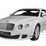 2008 Bentley Continental GT White 1:18 Diecast Car Model by Minichamps