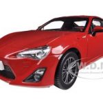 2013 Toyota 86 GT Left Hand Drive Lightning Red 1/18 Diecast Car Model by Century Dragon