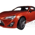 2013 Toyota 86 GT Left Hand Drive Orange Metallic 1/18 Diecast Model Car by Century Dragon