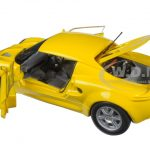 1999 Lotus Elise 111S Yellow 1/18 Diecast Model Car by Sunstar