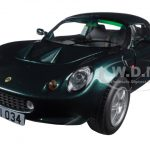 1999 Lotus Elise 111S Green 1/18 Diecast Model Car by Sunstar