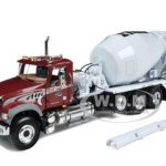 Mack Granite MP with McNeilus Bridgemaster Mixer 1/34 Diecast Model by First Gear