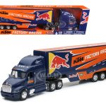Peterbilt KTM Factory Racing Team Truck Red Bull 1/32 Model by New Ray