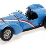 1937 Delahaye Type 145 V-12 Grand Prix Blue Limited to 1002pc 1/18 Model Car by Minichamps
