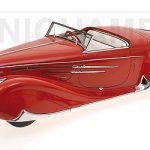 1939 Delahaye Type 165 Cabriolet Limited Edition to 1002pcs 1/18 Model Car by Minichamps