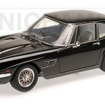 1963 Maserati Mistral Coupe Black Limited Edition to 250pcs 1/18 Model Car by Minichamps