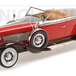 1929 Duesenberg Model J Torpedo Convertible Coupe 1/18 Model Car by Minichamps