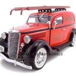 1935 Ford Chicago Fire Department 1/24 Diecast Car Model by Unique Replicas
