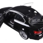 2011 BMW M1 Coupe Black Sapphire Metallic 1/18 Diecast Model Car by Minichamps