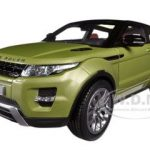 Range Rover Evoque Green 1/18 Diecast Car Model by Welly