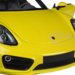 2013 Porsche Cayman Yellow Limited Edition to 1002pcs 1/18 Diecast Model Car by Minichamps