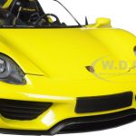 2013 Porsche 918 Spyder Yellow Limited Edition to 504pcs 1/18 Diecast Model Car by Minichamps