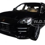 2013 Porsche Macan Turbo Black Metallic Limited Edition to 504pcs 1/18 Diecast Model Car by Minichamps